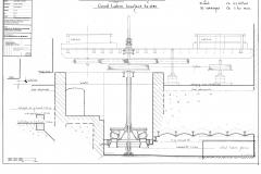schema turbine en maalstoel